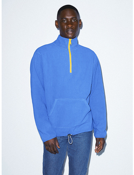 Polar Fleece Quarter Zip by American Apparel
