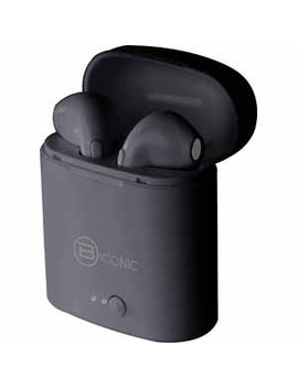 Biconic Unleash Wire Free Bluetooth® Earbuds With Charging Case   Black by B Iconic