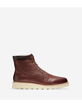 Men's Nantucket Rugged Plain Toe Boot by Cole Haan