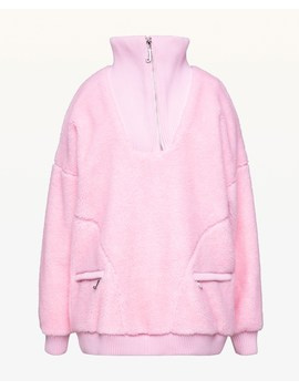 Sherpa Half Zip Pullover by Juicy Couture