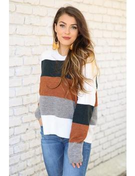 A Dip In Temperature Sweater by Hazel & Olive