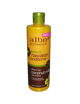 Alba Botanica, Natural Hawaiian Conditioner, Drink It Up Coconut Milk, 12 Oz (340 G)Alba Botanica, Natural Hawaiian Conditioner, Drink It Up Coconut Milk, 12 Oz (340 G) by Alba Botanica