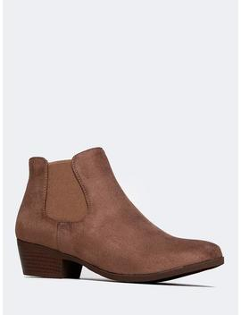 Alton Western Ankle Bootie by Zooshoo