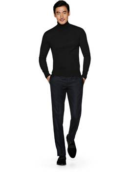 Black Turtleneck by Suitsupply
