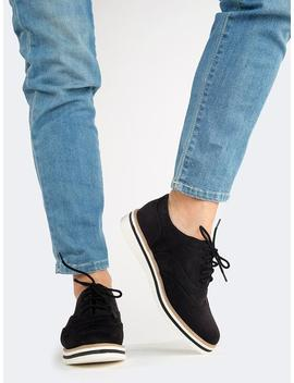 Platform Lace Up Oxford by Zooshoo