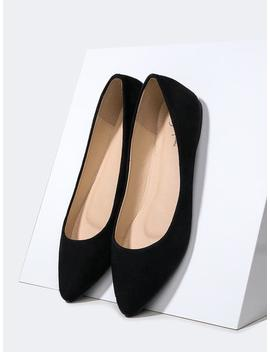 Poppy Pointed Toe Flats by Zooshoo