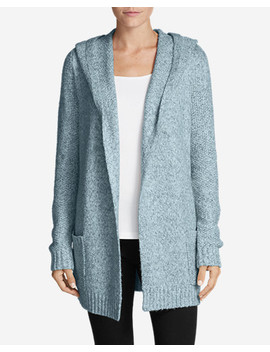 Women's Hooded Sleep Cardigan by Eddie Bauer
