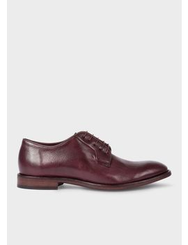 Men's Damson Leather 'chester' Flexible Travel Shoes by Paul Smith