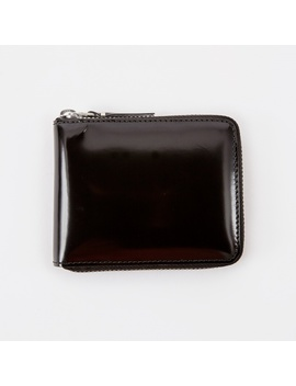 Comme Des Garcons Wallet Mirror Inside Xs (Sa7100 Mi)   Black/Sil by Comme Des Garcons Wallets