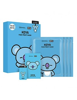 [Mediheal] Bt21 Koya Face Point Mask (4pcs) by Style Korean