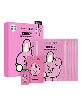 [Mediheal] Bt21 Cooky Face Point Mask (4pcs) by Style Korean