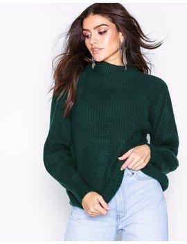 Jdysugar L/S Highneck Pullover Knt by Jacqueline De Yong