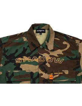 Camouflage Tactical Cropped Jacket by Shadow Hill