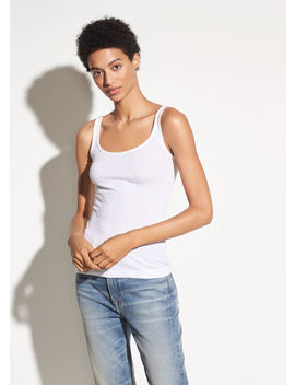 Scoop Neck Tank by Vince