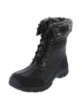 Women's Snowbound  30 Lace Up Weather Boot by Learn About The Brand Rugged Outback