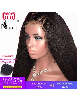 """venice-360-lace-frontal-wigs-with-baby-hair-yaki-straight-short-human-hair-bob-wigs-pre-plucked-hairline-150%-remy-hair-8""""-14"""" by aliexpresscom"""