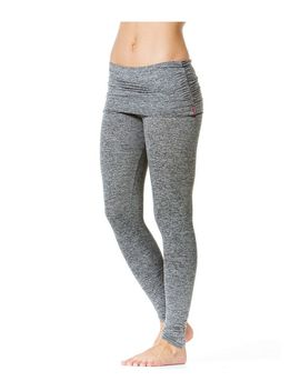 Ruched Waist Ankle Legging by Hard Tail Forever