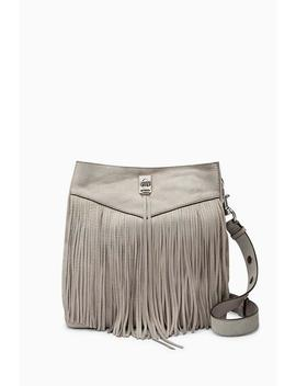Darren Shoulder Bag With Fringe by Rebecca Minkoff