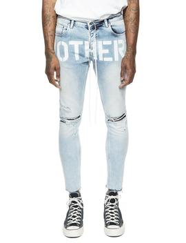 Cropped Stencil Jeans by Other Uk