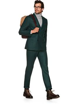 Havana Green Suit by Suitsupply