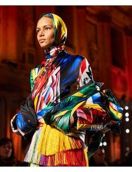 Harlequin Stud Backpack by Versace