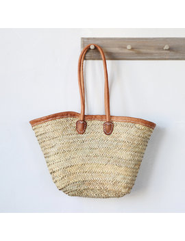 Leather Handle Market Tote by Terrain
