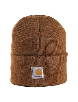 Carhartt® Foldover Knit Hat In Brown by Bed Bath & Beyond