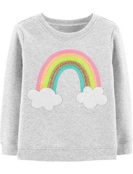 Glitter Rainbow Pullover by Oshkosh