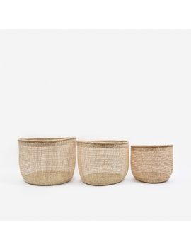 Shape Baskets Set Of Three   Small by House Doctor
