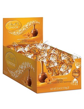 Lindt Lindor Caramel Milk Chocolate Truffles 60 Count Box by Bed Bath And Beyond