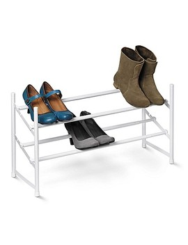 Honey Can Do® 2 Tier Expandable Shoe Rack by Bed Bath And Beyond