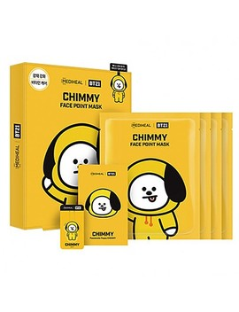 [Mediheal] Bt21 Chimmy Face Point Mask (4pcs) by Style Korean