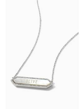 Signature Engravable Hexagon Necklace by Stella&Dot