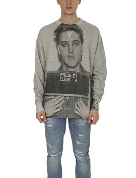 R13 Elvis Mugshot Oversized Sweatshirt by R13