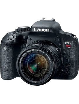Eos Rebel T7i Dslr Camera With 18 55mm Lens by Canon