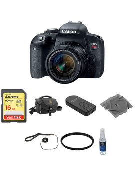 Eos Rebel T7i Dslr Camera With 18 55mm Lens Basic Kit by Canon