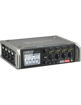 F4 Multitrack Field Recorder With Timecode   6 Inputs / 8 Tracks by Zoom