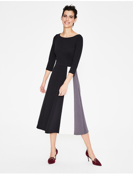 Claudia Ponte Midi Dress by Boden
