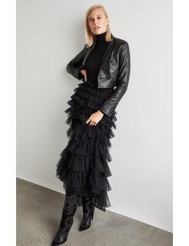 Tiered Ruffle Maxi Skirt by Bcbgmaxazria