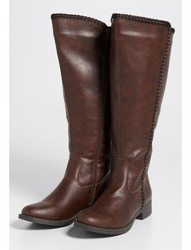Gem Wide Calf Tall Boot by Maurices