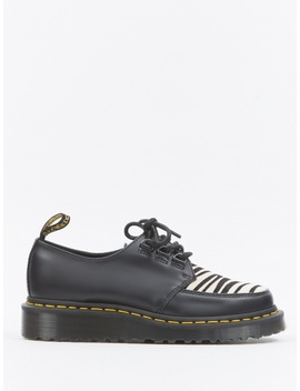Dr. Martens Ramsey Zrb   Black Smooth/Zebra Hair by Dr Martens