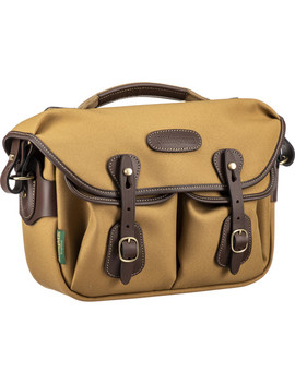 Hadley Small Pro Shoulder Bag (Khaki Fibre Nyte &Amp; Chocolate Leather) by Billingham