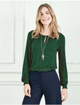 Vicky Jersey Top by Boden