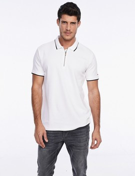 Zipper Polo Shirt by Castro