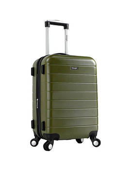 "3 N 1 20"" Expandable Hardside Carry On Spinner Luggage by Wrangler"