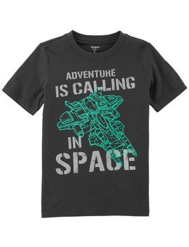 Space Adventure Jersey Tee by Carter's