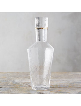 Hammered Glass Carafe by Terrain