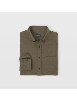 Slim Flannel Shirt by Club Monaco