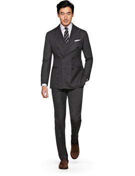 Jort Grey Suit by Suitsupply