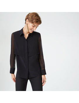 Bernee Silk Shirt by Club Monaco